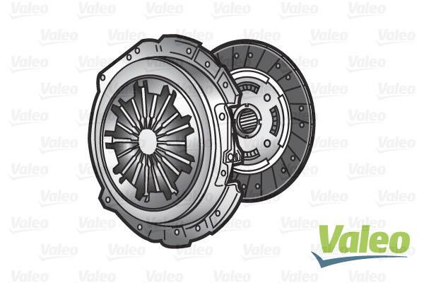 Sprzęgło - komplet VALEO 832230