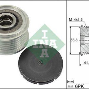 Sprzęgło jednokierunkowe alternatora INA 535 0304 10