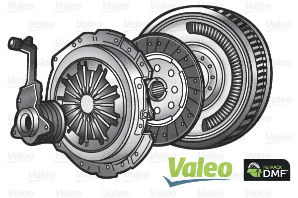 Sprzęgło - komplet VALEO 837001